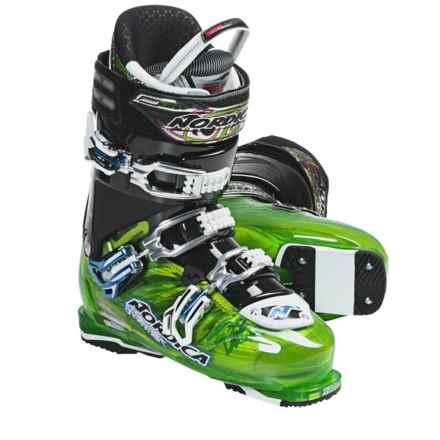 Nordica Fire Arrow F1 Ski Boots (For Men) in Green - Closeouts