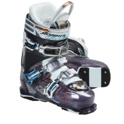 Nordica Fire Arrow F2 Ski Boots (For Women) in Purple