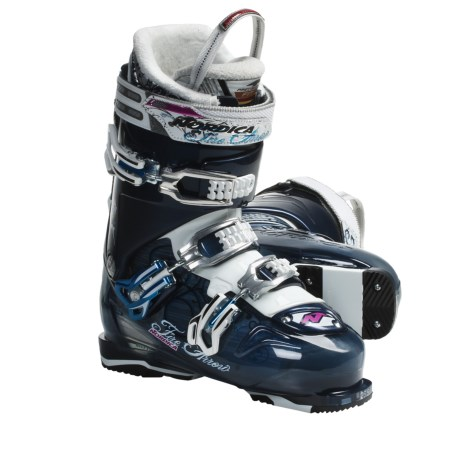 Nordica Fire Arrow F3 Ski Boots (For Women) in Blue/Dark Blue