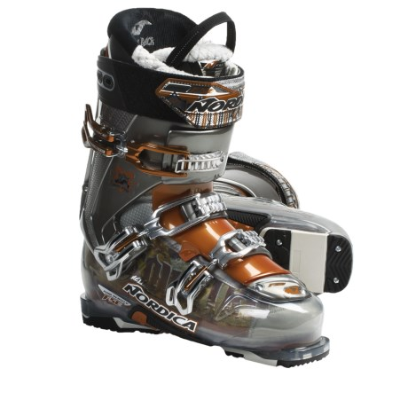 Nordica Hell and Back Hike Pro Alpine Ski Boots (For Men) in Smoke