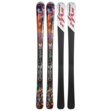 Nordica Infinite Alpine Skis - XBI Bindings (For Women) in Violet/Orange - Closeouts