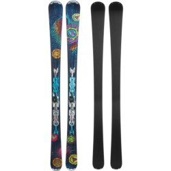 Nordica Unknown Legend Alpine Skis - XBI CT Bindings (For Women) in Blue