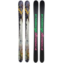 Nordica Unleashed Hell Alpine Skis - All Mountain in Dark Brown - Closeouts