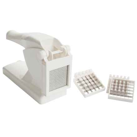 Norpro French Fry Cutter/Ricer in White - Closeouts