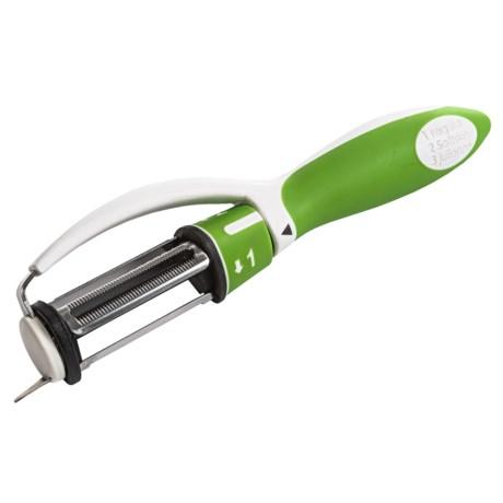 Norpro Grip EZ Triple Peeler in Green