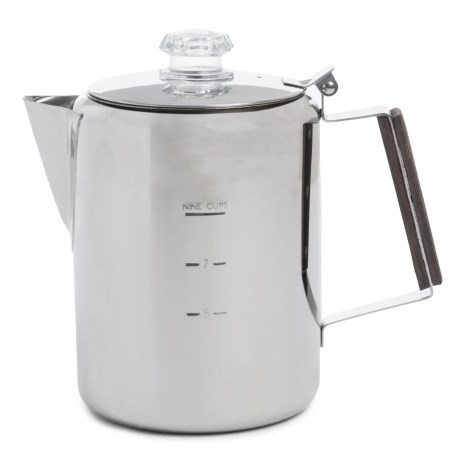 Norpro Heavy-Duty Stainless Steel Percolator - 9-Cup