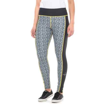 d4f0aefe9a6f3 Clearance. North of Winter Edelweiss Base Layer Pants (For Women) in Blue  Yellow -