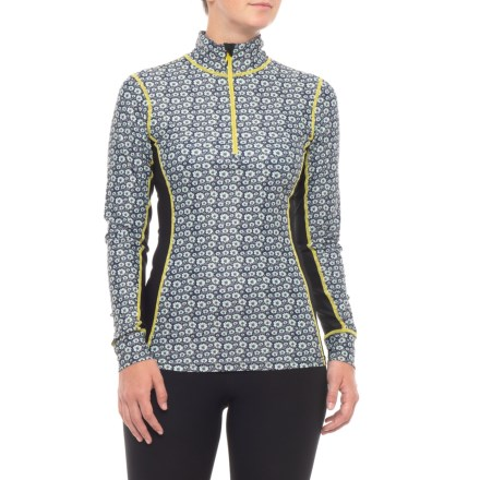 46be030aed019 Clearance. North of Winter Edelweiss Base Layer Top - Zip Neck