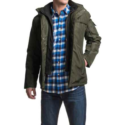 North Pole Aqua Tech Parka - Insulated (For Men) in Military (Olive) - Closeouts