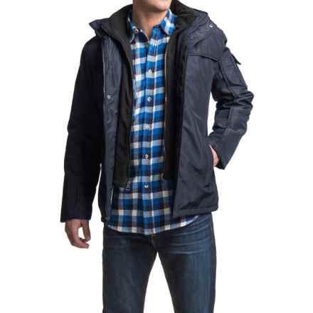 North Pole Aqua Tech Parka - Insulated (For Men) in Navy - Closeouts