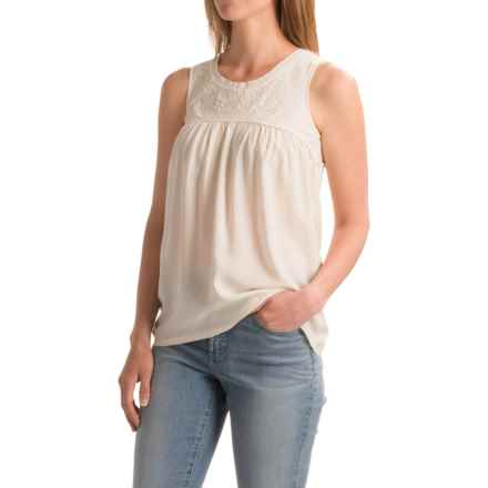 North River Babydoll Tank Top (For Women) in Soapstone - Closeouts