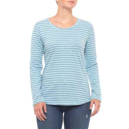 North River Bluestone Yarn-Dyed Shirt - Long Sleeve (For Women) in Bluestone - Closeouts