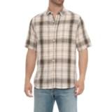 North River Herringbone Woven Shirt - Short Sleeve (For Men)
