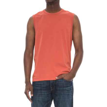 North River Muscle T-Shirt - Sleeveless (For Men) in Hot Sauce - Closeouts