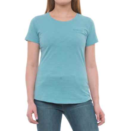 North River Slub-Jersey Shirt - Short Sleeve (For Women) in Teal - Overstock