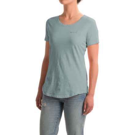 North River Solid Slub-Knit Shirt - Short Sleeve (For Women) in Botticelli - Closeouts