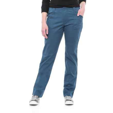 North River Stretch Cotton Twill Pants (For Women) in Astronaut - Overstock