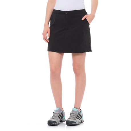 North River Stretch-Woven Outdoor Skort (For Women) in Black