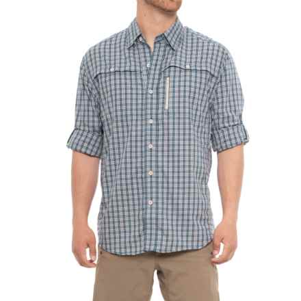 North River Visco Utility Shirt - Long Sleeve (For Men) in Blue - Overstock