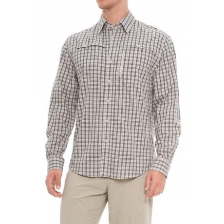 North River Visco Utility Shirt - Long Sleeve (For Men) in Khaki