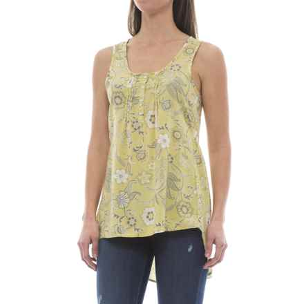 North River Woven Tunic Tank Top (For Plus Size Women) in Deco - Closeouts