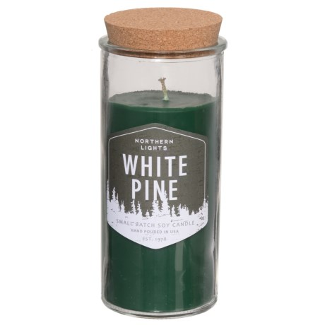 Northern Lights Northern Birch Soy Candle - 14 oz. in White Pine