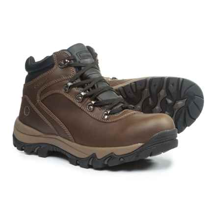 Northside Apex Mid Leather Hiking Boots - Waterproof (For Men) in Brown - Closeouts