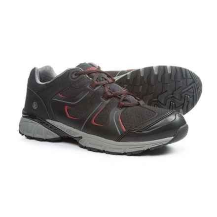 Northside Ascent Hiking Shoes - Waterproof (For Men) in Black/Red - Closeouts