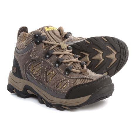 Northside Caldera Jr. Hiking Boots (For Boys) in Stone/Yellow