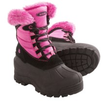 Northside Fairmont Winter Boots - Waterproof, Insulated (For Girls) in Black/Fuchsia - Closeouts