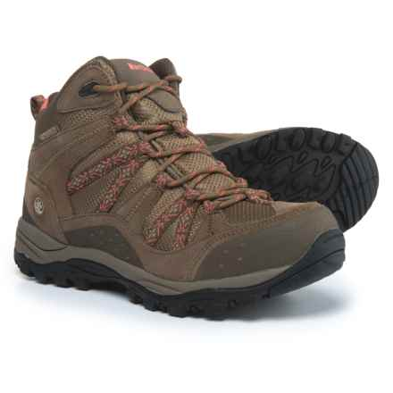 Northside Freemont Hiking Boots - Waterproof (For Women) in Tan/Coral - Closeouts