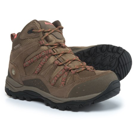 Northside Freemont Hiking Boots - Waterproof (For Women) in Tan/Coral