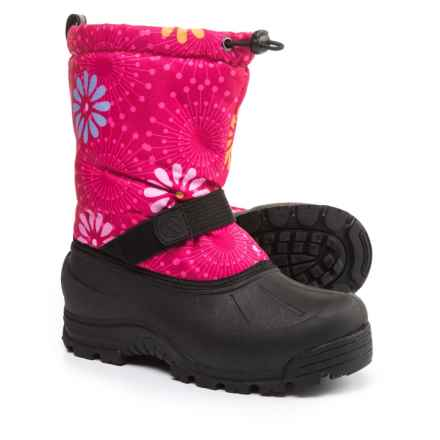 Northside Frosty Pac Boots - Waterproof, Insulated (For Kids) in Fuchsia/White - Closeouts