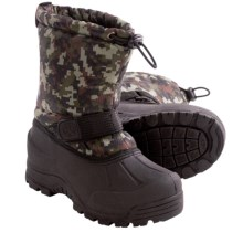 Northside Frosty Winter Pac Boots - Waterproof, Insulated (For Kids) in Camo - Closeouts