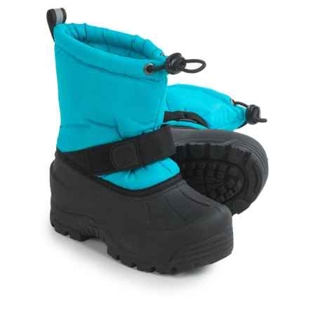Northside Frosty Winter Pac Boots - Waterproof, Insulated (For Toddlers) in Turquoise - Closeouts