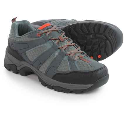 Northside Katanga Hiking Shoes (For Men) in Charcoal/Orange - Closeouts
