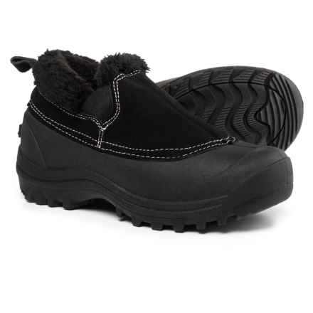 Northside Kayla Low Pac Boots - Insulated, Slip-Ons (For Women) in Black - Closeouts