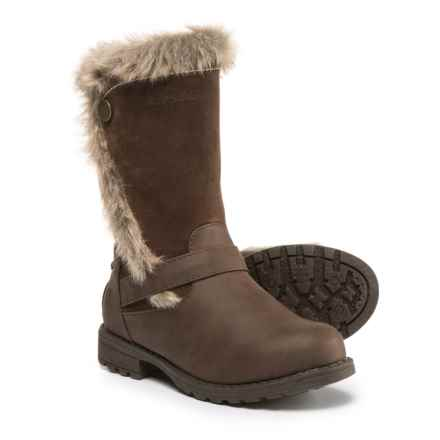 Northside Kenna Winter Boots - Vegan Leather (For Girls) in Brown - Closeouts