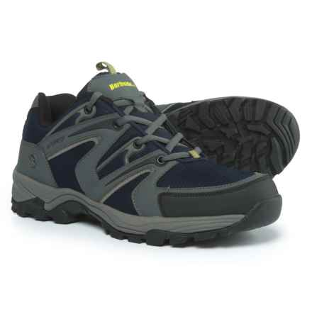 Northside Levon Hiking Shoes - Waterproof (For Men) in Navy/Gray - Closeouts
