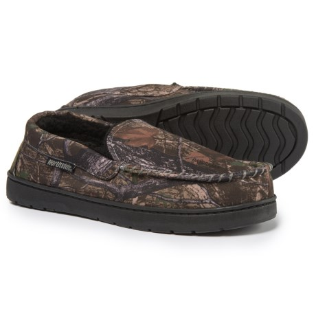 Northside Mason Moccasin Slippers (For Men) in Brown Camo