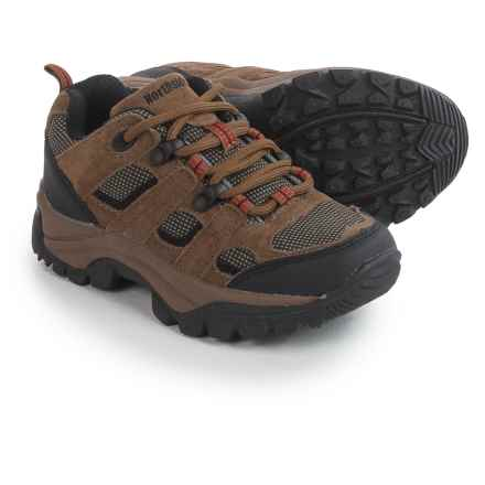 Northside Monroe Low Hiking Shoes (For Little and Big Boys) in Brown - Closeouts