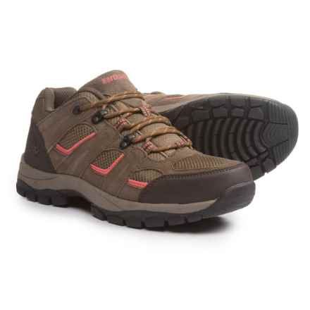 Northside Monroe Low Hiking Shoes (For Women) in Tan/Coral - Closeouts