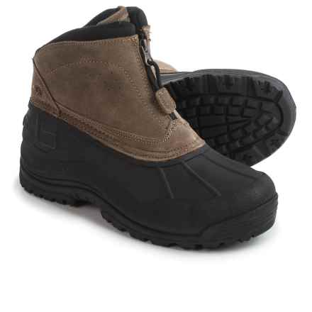 Northside Mt.SI Pac Boots - Waterproof, Insulated, Leather (For Men) in Brown - Closeouts