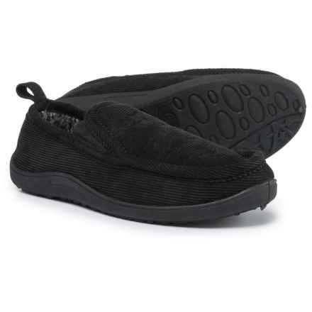 Northside Palmer Moccasin Slippers (For Men) in Black - Closeouts