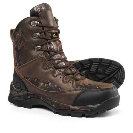 Northside Renegade 400 Hunting Boots - Waterproof, Insulated (For Men) in Brown/Camo - Closeouts