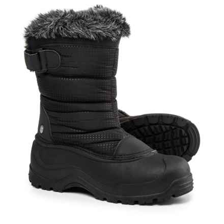 Northside Saint Helens Pac Boots - Waterproof, Insulated (For Women) in Black - Closeouts