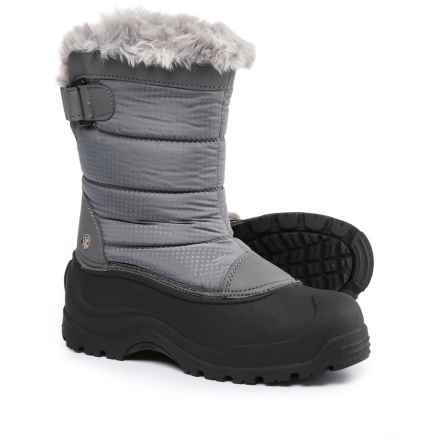 Northside Saint Helens Pac Boots - Waterproof, Insulated (For Women) in Gray - Closeouts