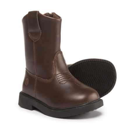 Northside Sidekick Boots - Vegan Leather (For Infant and Toddler Boys) in Brown