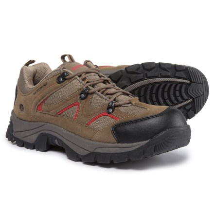 69cc5f969ae7 Northside Snohomish Low Hiking Shoes - Waterproof (For Men) in Chili Pepper  - Closeouts