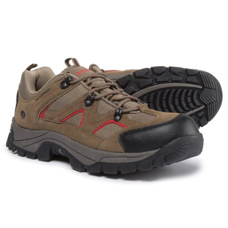 Northside Snohomish Low Hiking Shoes - Waterproof (For Men) in Chili Pepper